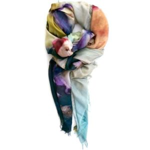 Agnes On The Lawn – Silk Scarf